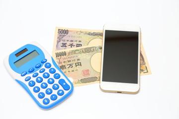 スマホの支払いイメージ Payment image of the smartphone