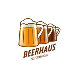 vector beer logo