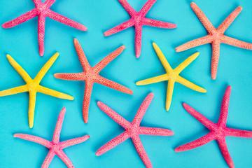 Background of starfish