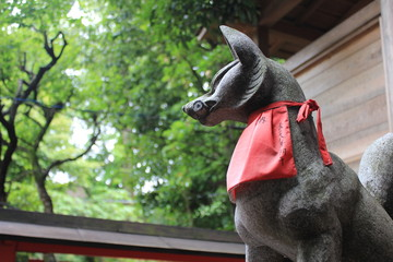 馬橋稲荷神社のお稲荷さん