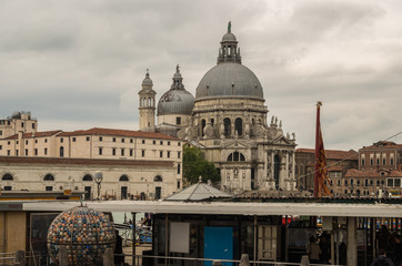 Historic buildings and architecture of famous Venice  in Northern Italy