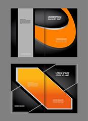 Professional business flyer, corporate brochure design template