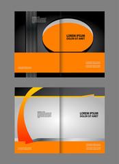 Vector template brochure