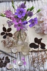 Wall Mural - Gartenblumen