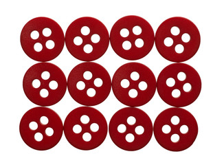 Rectangle of red buttons