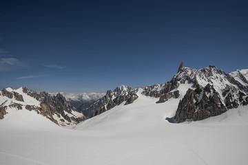 Glacier du Géant,Vallee Blanche, Mont Blanc Massif, Chamonix, France