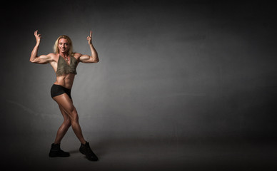body builder figure