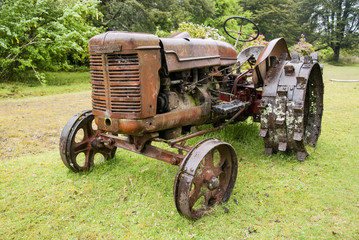 Old tractor - Puerto Montt - Chile