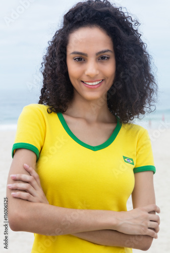 Schöne Brasilianerin