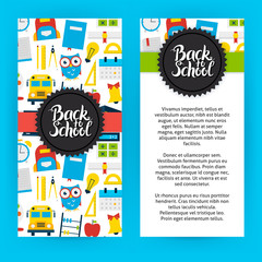 Flyer Template Back to School