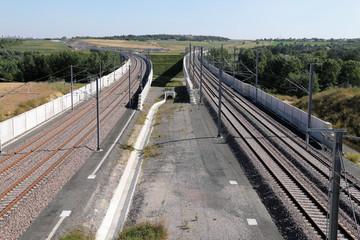 LGV SEA ligne à grande vitesse Sud Europe Atlantique Paris Bordeaux Raccordement de Poitiers nord