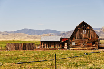 Old Barn on a Ranch