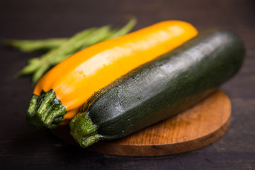 fresh vegetables in studio