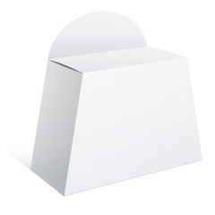 Light Package Box with a handle