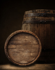 background of barrel