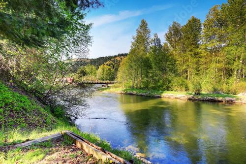 description mountain river natural - photo #1
