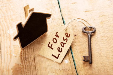 real estate lease concept