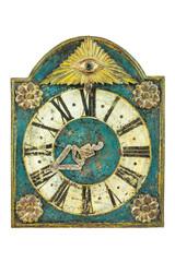 Genuine medieval clock with eye