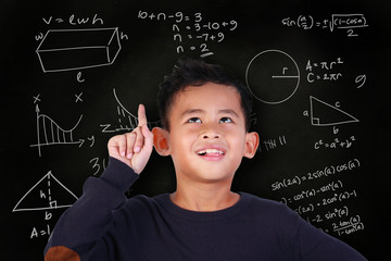 Little Boy Solved Math Problem