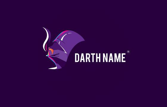 Darth Viper star death flat logo
