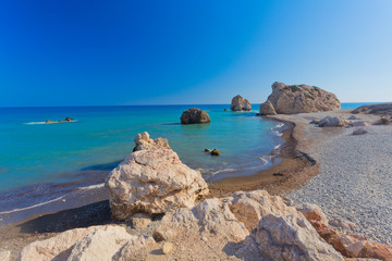 Aphrodite's birthplace in Paphos, Cyprus