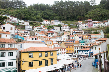 Cudillero village in Asturias, Spain.