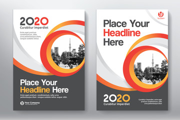 Business Book Cover Design Template in A4. Easy to adapt to Brochure, Annual Report, Magazine, Poster, Corporate Presentation, Portfolio, Flyer, Banner, Website.