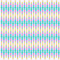 Abstract pattern of dots Seamless vector background with colors colors