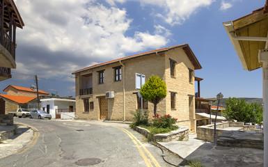 Omodos village. Cyprus