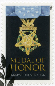 USA - 2015: shows Medal of Honor Vietnam War the Army