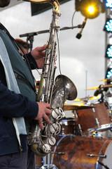 Jazz mit Saxophon