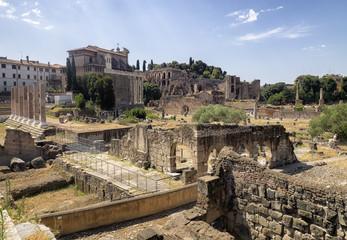 Foro romano ruinas