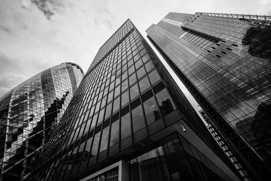 London City Skyscrapers, UK.