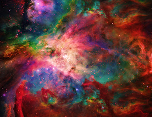 Fototapete - Galactic Space Elements of this image furnished by NASA