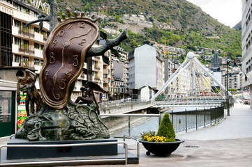 Nobility of Time Statue - Andorra