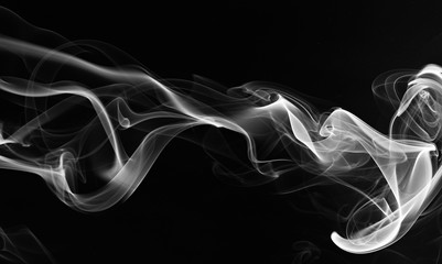 Wall Murals Smoke abstarct smoke swirls