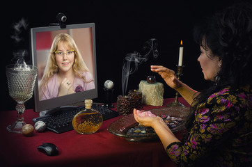 Psychic attracts love to rose quartz for young girl