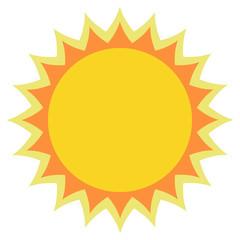 Sun Sun Icon Sun Icon Vector