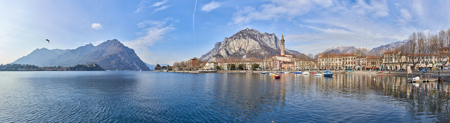 Landscape of Lecco Wall mural