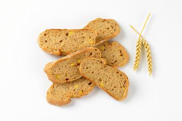 slices of wholegrain bread