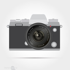 Digital Camera with len