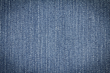 Denim jeans texture or denim jeans background of fashion jeans design with copy space for text or image. Dark edged.