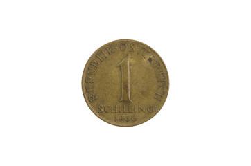 1 Schilling Münze Österreich