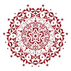 Vector ornament. Beautiful illustration. Colorful