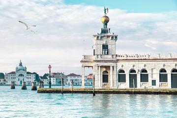 Punta della Dogane in Venice, Italy