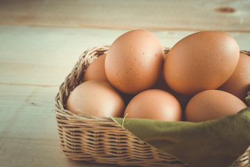egg  with filter effect retro vintage style
