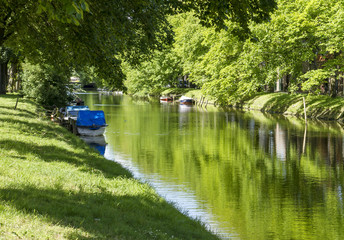 Canals in Netherlands