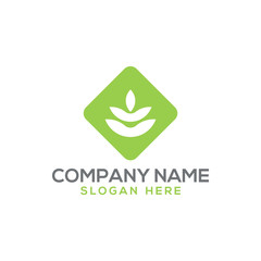 Agriculture and farming logo vector