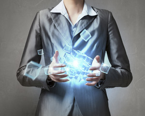 New technologies integration . Mixed media