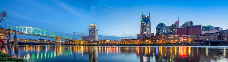 Nashville TN skyline
